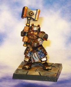 160307 mantic dungeon saga Rordin dwarf fighter