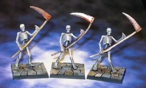 160309 mantic dungeon saga skeletons with scythes x3