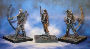 160419 Mantic Dungeon Saga Skeleton Archers x3