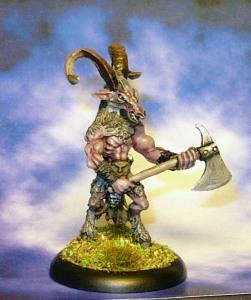 160530 reaper bones 77253 Beastman Warrior 2