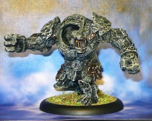160611 Mantic Abyssal Dwarfs Lesser Obsidian Golem B