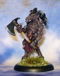 160611 reaper bones 77252 Beastman Warrior 1