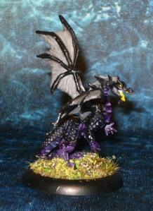 160827 reaper bones 77272 Dragon Hatchling Green