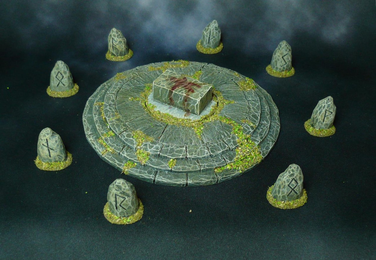 More Oathsworn Resin Terrain and other bits