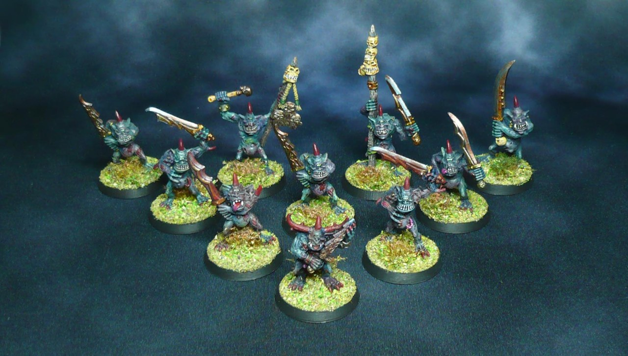 Spreading the Disease: Classic Plaguebearers rebased andexpanded