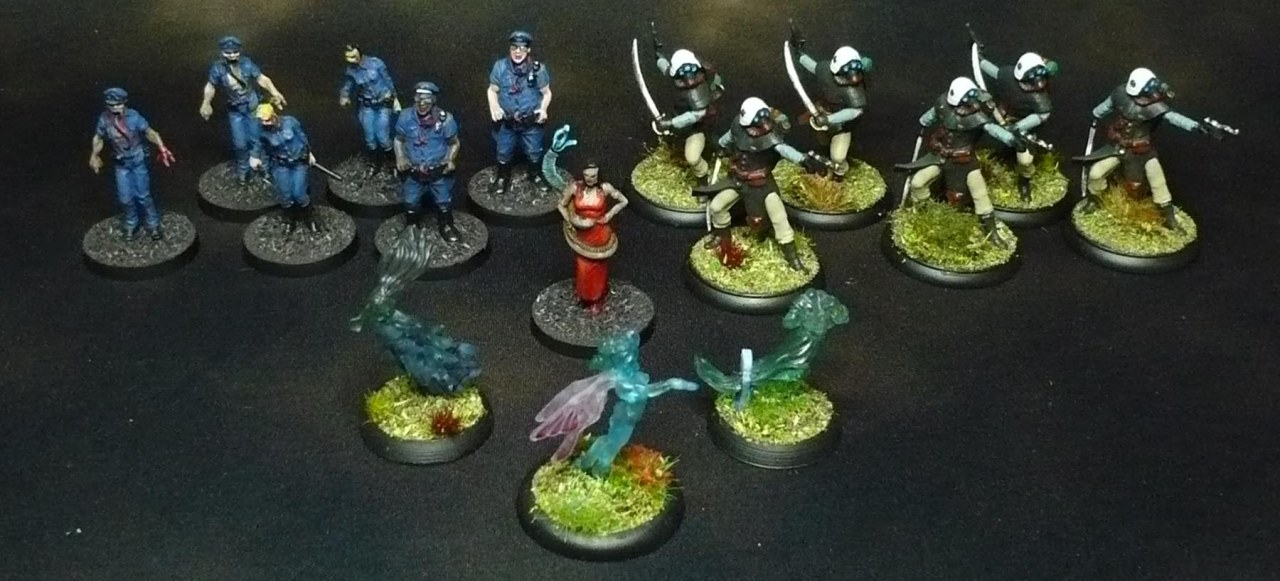 Shadows of 7 Sins and see-through minis
