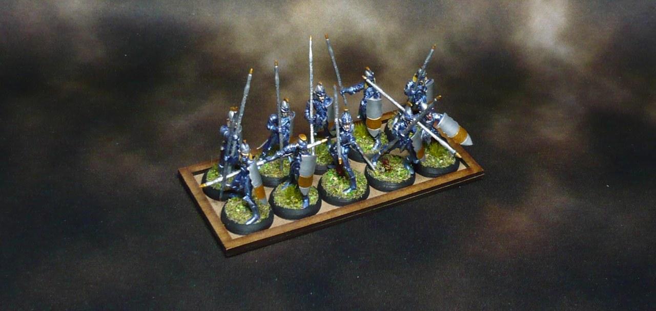 Bobbybox, pt 6: Quick Elves spearmen troop +Orclings