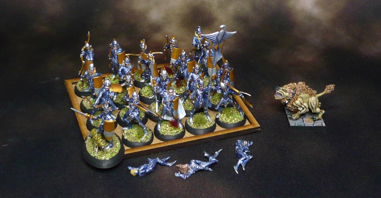 Bobbybox pt 7: Elven Bowmen regiment and the DSMawbeast