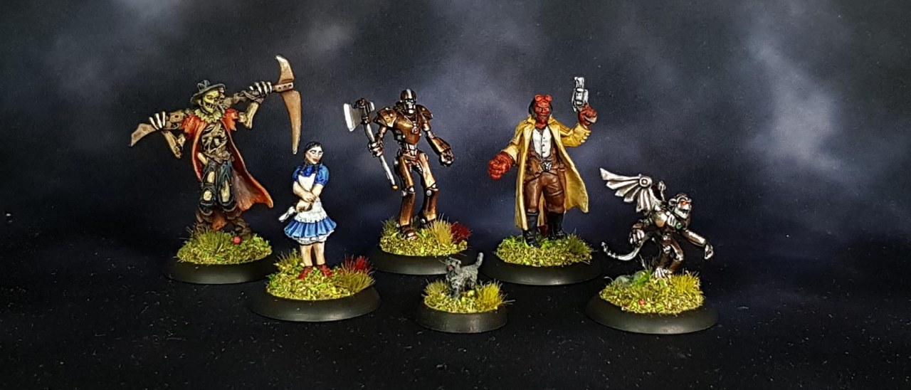 Lead Painters League round 3