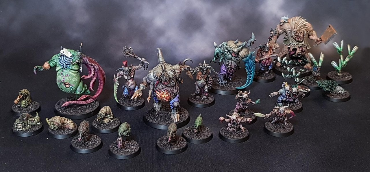 Kill Team Rogue Trader: The GellerpoxInfected