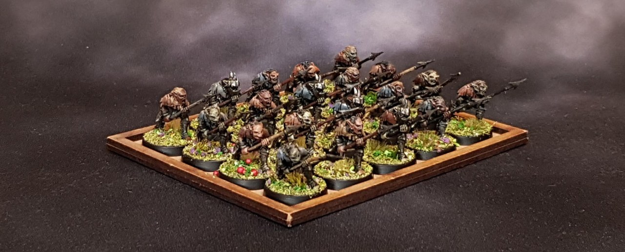 The Zen of Moria Goblin Spearmen