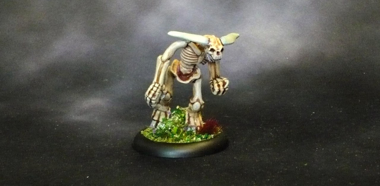 What turned out to be a D&D 3.5 Skeleton Minotaur