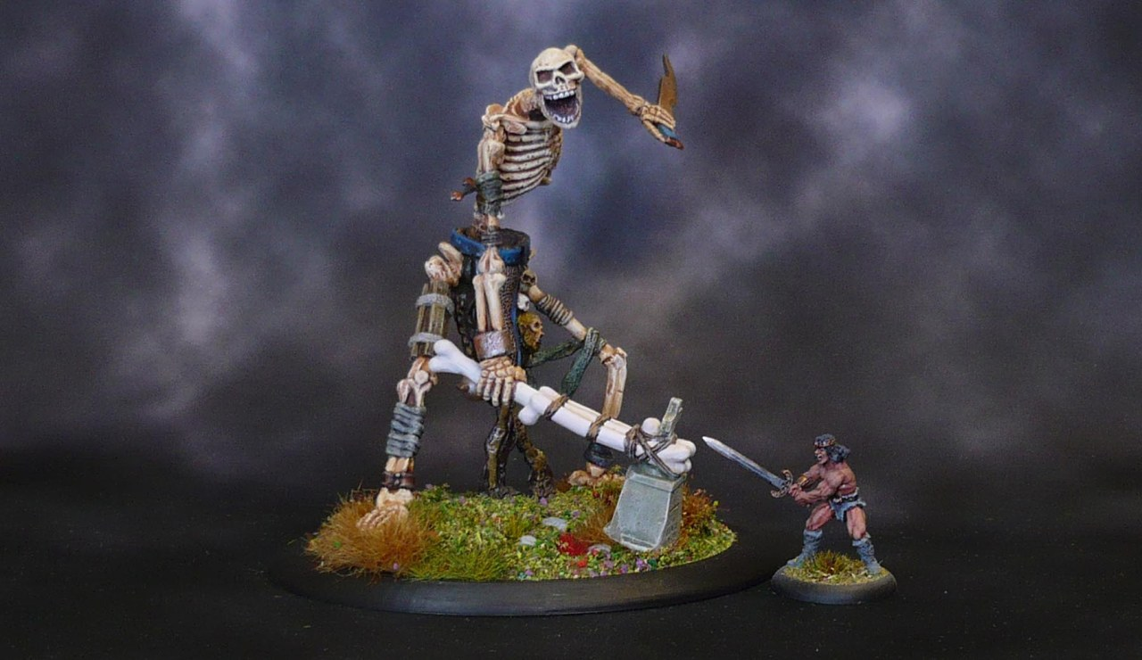 Big Bones: Colossal Skeleton