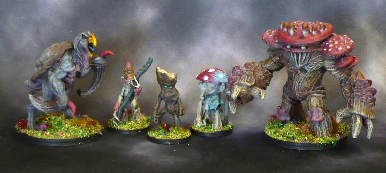 3D prints from The Skyless Realms