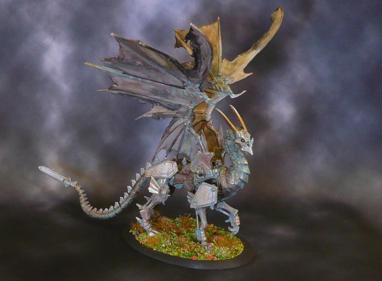 Big Bones: Grindgear the Corroded, Clockwork Dragon