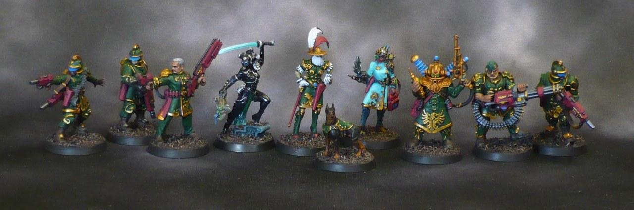 Kill Team Rogue Trader: The ElucidianStarstriders