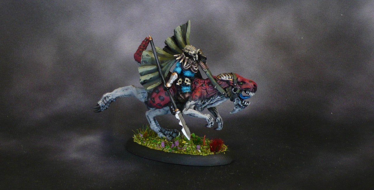 Mantic Tyrant King Blaine on Raptor