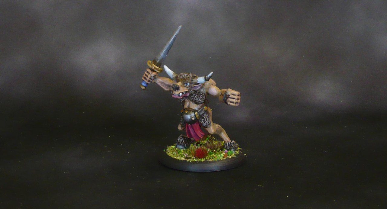 Harlequin Oldhammer Minotaur