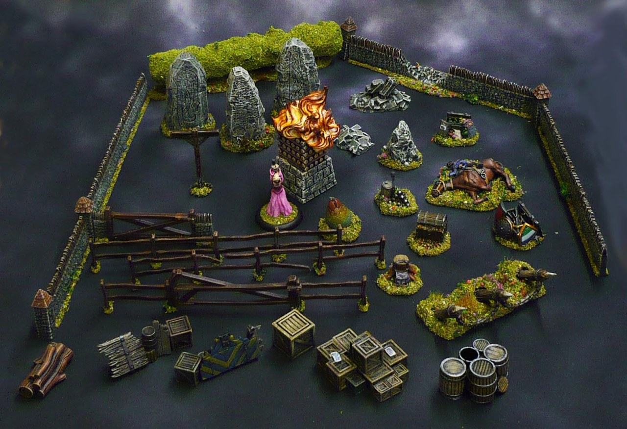 The Kings of War: Vanguard scenery