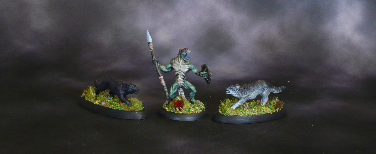 Bones 1+2, Lizardman and Companion Animals