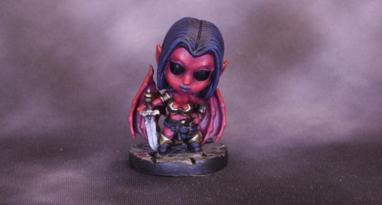 Bones 4: Smallworld Sophie, the Chibi Succubus