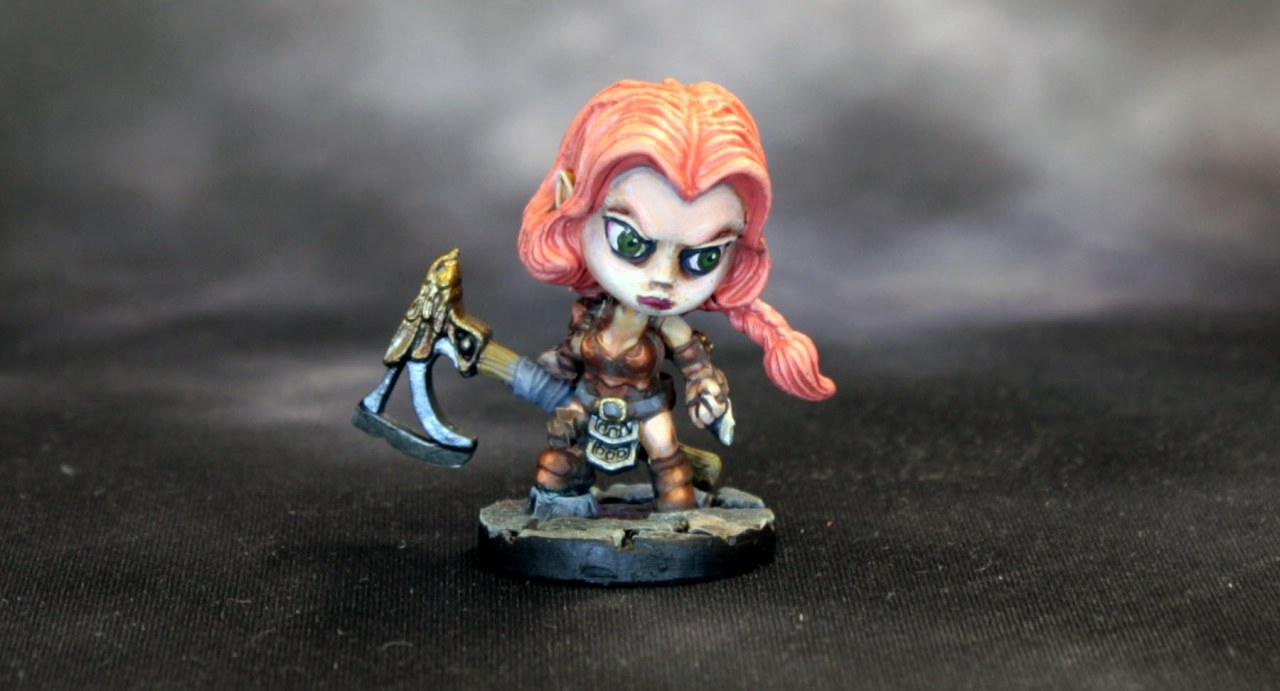 Bones 4: Smallworld Arnise, Elf Barbarianna