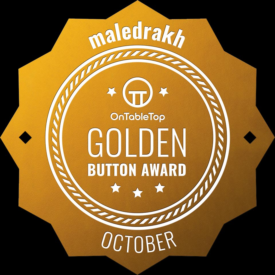 A sixth Golden Button at OnTableTop (formerly known as Beasts of War)
