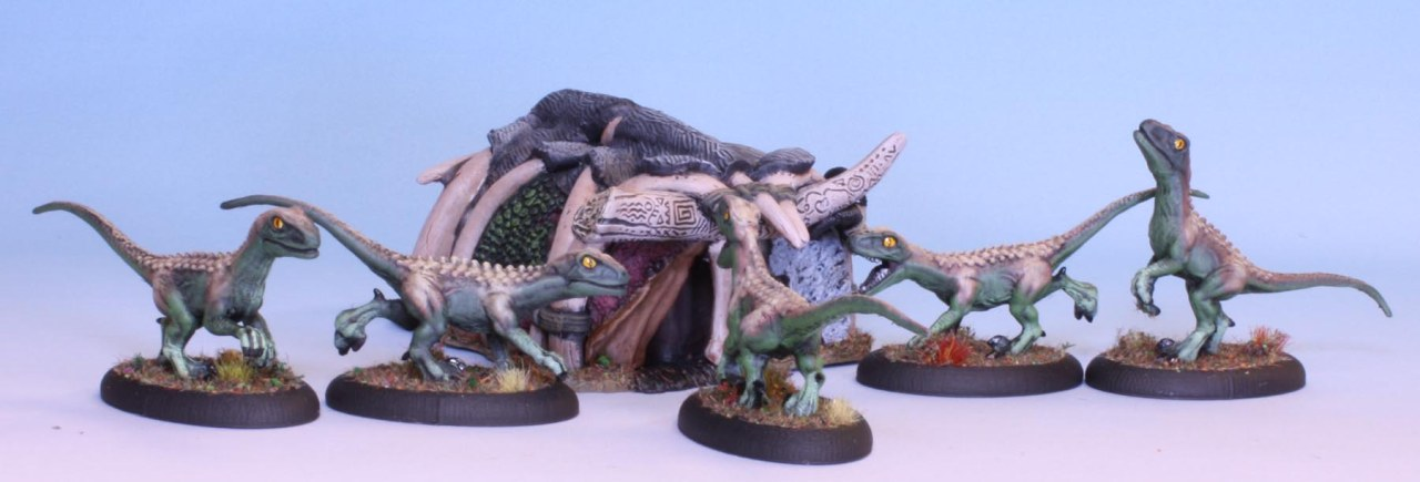 Lost Valley: The Raptors are at the dooragain!