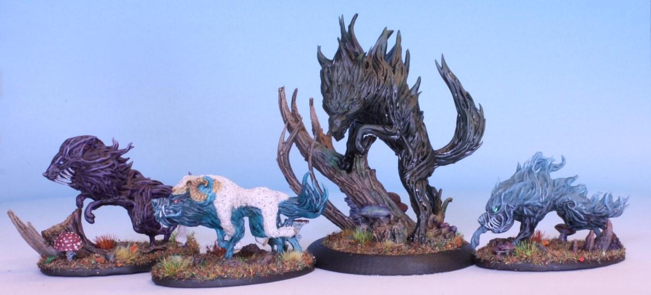 Wraith Wolves