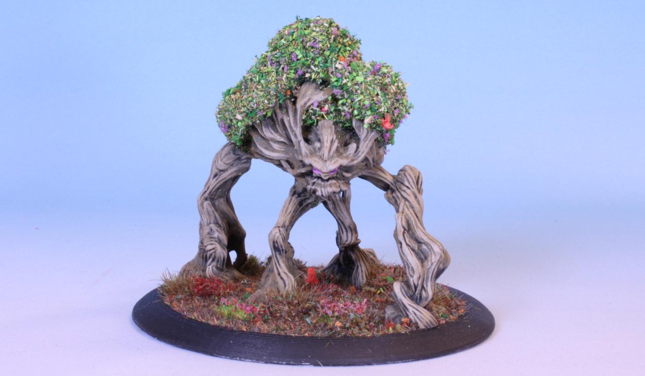 3D printing: The Ancient Treeman
