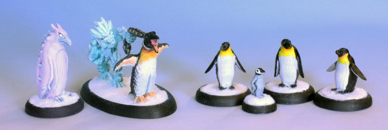 Penguins of the SouthernWilds