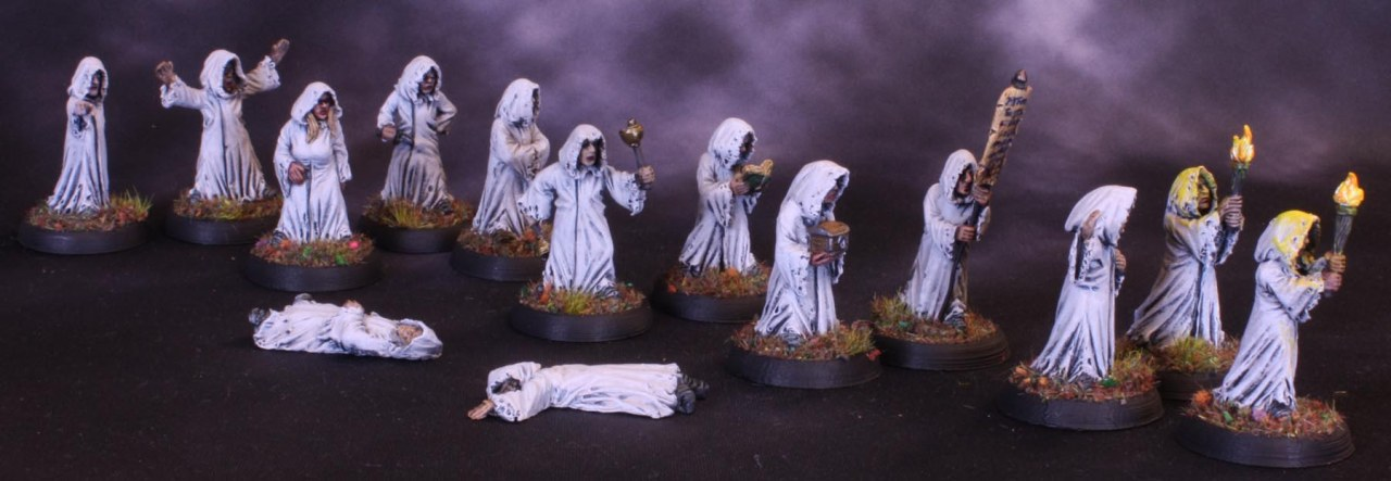 The Procession of the PlagueCult